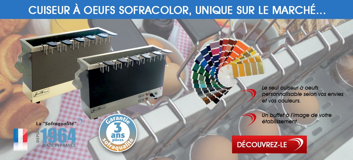 Cuiseur à oeuf Sofracolor