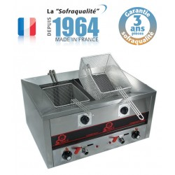 Friteuse Compact Line 500 - Snack II - FRIT.O.MATIC - 2 x 7 L