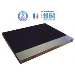 Plaque chauffante vitrocéramique - 400 x 600 - Bords droits