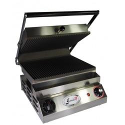Infra grills - Série E - Plaques lisses/rainurées - 400 V - 10184LRP