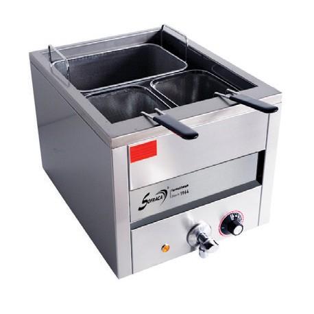 Cuiseur à pâtes + 1 panier large + 2 paniers - Cuve de 15 litres - 21202+PAN01