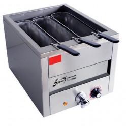 Cuiseur à pâtes - 3 paniers profonds - Cuve de 15 litres - 21202+PAN03