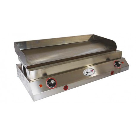Plaque lisse spéciale hamburgers II - 400 V - 23234