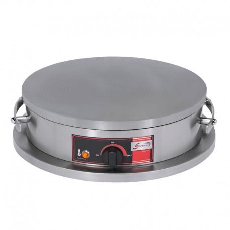 Crêpière électrique foraine - Professionnelle à usage intensif - Diamètre 40 mm - CR1RE40