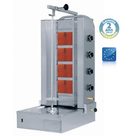 Shoarma brûleur céramique gaz - 80 kg