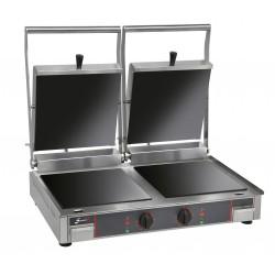 Grill vitrocéramique double - Plaques lisses - 10232VLL