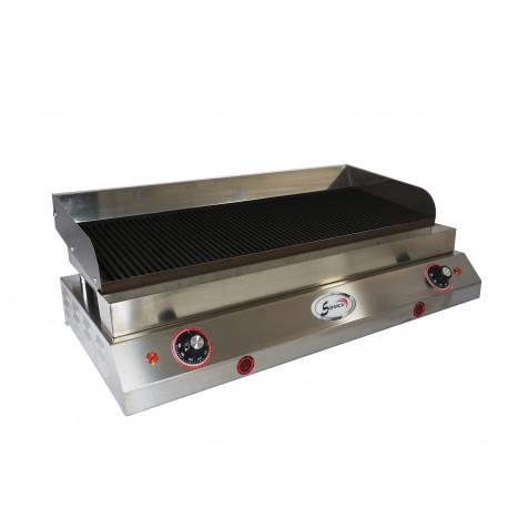 Plaque rainurée spéciale hamburgers II - 400 V - 23234R
