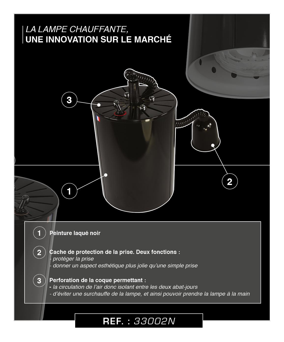 BLACK SERIE LAMPE