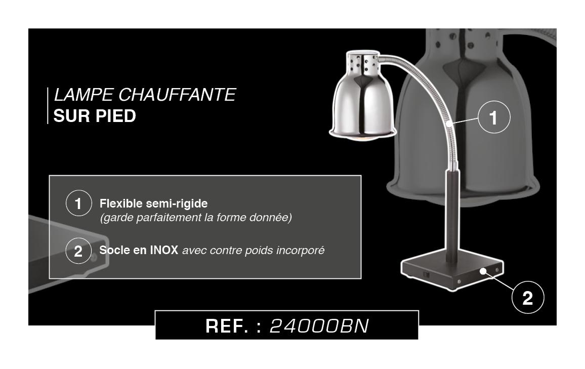BLACK SERIE LAMPE CHAUFFANTE