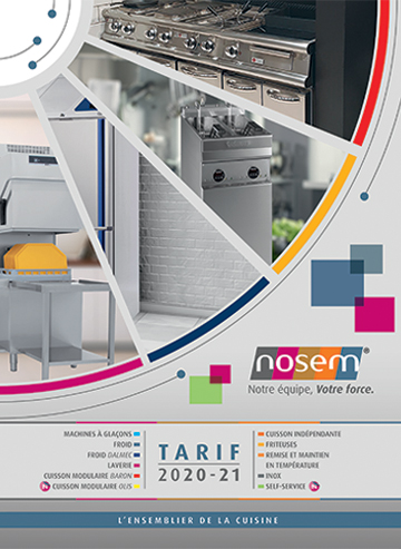 Catalogue tarif 2020/2021NOSEM