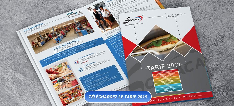 Tarif Sofraca 2019